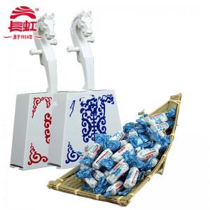 蒙古奶糖 180g*2 马头琴糖盒 牛奶条酸奶糖两种口味 内蒙古经典糖果 长虹正蓝旗