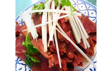 """百年名吃""""广饶肴驴肉"""""""