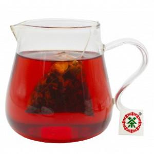 洛神红茶(洛神花+红茶)10袋/30g 花草茶包 三角袋泡