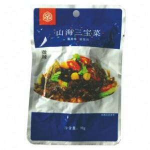 山海三宝菜  70gx20袋/箱 来自海洋的长寿菜 鲜美酱菜
