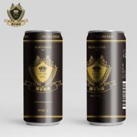 德华生态精酿啤酒 黑啤 1L装2斤 1箱(1L听x6听)