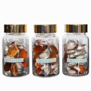 海带多糖块 0.5gx40粒x3瓶 藻之物语 精制礼盒 健康礼品