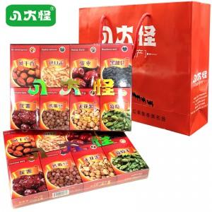 八大怪礼盒 346g*2盒 新疆特产礼盒 和田红枣葡萄干巴旦木坚果 送礼佳品