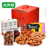八大怪团聚坚果大礼盒1650g 零食每日混合坚果组合礼盒年货送礼