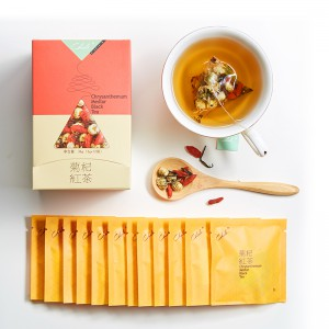 菊杞红茶 36g(3g*12包)养生花草茶 广州茶里