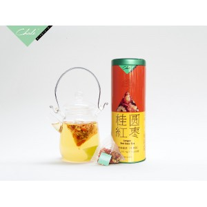 桂圆红枣茶 112.5g(7.5g*15包) 养生花草茶 广州茶里