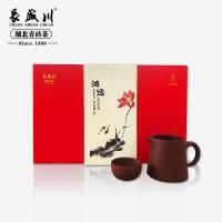 长盛川黑茶 669g/ 鸿运礼盒 湖北青砖茶 湖北特产茶叶