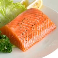 东方海洋 鲜活新鲜三文鱼中段刺身寿司生吃带皮称重500g