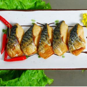 東方海洋 冻盐烤鲐鱼块 250g 精选优质鲐鱼烤制而成 海鲜