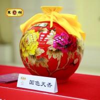 【东湖】 国色天香手工十年陈酿山西老陈醋礼盒包邮山西特产