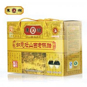 【东湖】东湖精品如意坛山西老陈醋礼盒五年陈酿山西老陈醋