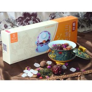 菊花三泡台茶
