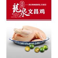文昌鸡 海南四大名菜 海南特产 180天农家鸡 龙泉集团