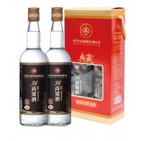 皇家58度典藏高粱酒-双入组