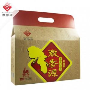 中秋礼盒符离集烧鸡徽香源礼盒土麻鸡500g*2熟食小吃卤味特产包邮