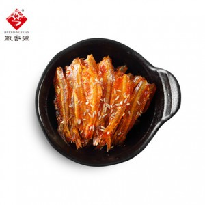 水晶小鱼仔干 12g*10袋 休闲零食网红食品 烧烤麻辣香辣三种口味 徽香源