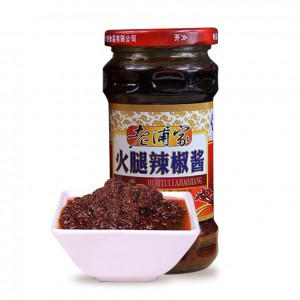 云南特产正宗老浦家宣威火腿辣椒酱拌面下饭调料280g瓶