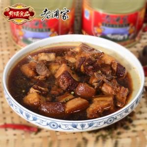 老浦家 宣威红烧肉罐头500g红烧猪肉扣肉 即热熟食野外户外午餐