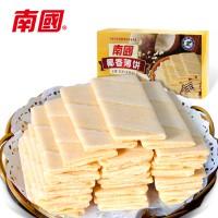 椰香薄饼80g 甜味咸味香蕉榴莲多口味饼干 海南特产南国食品