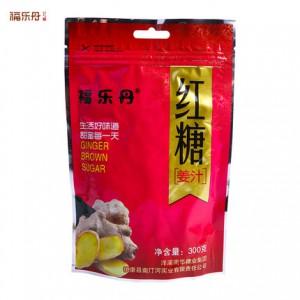 福乐丹云南特产姜汁红糖手工速溶土红糖粉痛经食糖老姜汤300g袋装