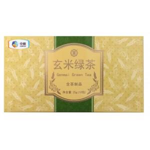 玄米绿茶(玄米+绿茶)10袋/25g 花草茶包 三角袋泡