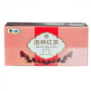 中茶花草茶包 三角袋泡 洛神红茶(洛神花+红茶)10袋/30g