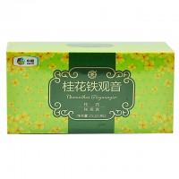 中茶花草茶包 三角袋泡 桂花铁观音(桂花+铁观音)10袋/25g