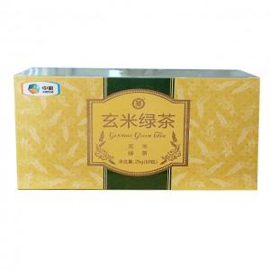 中茶花草茶包 三角袋泡 玄米绿茶(玄米+绿茶)10袋/25g