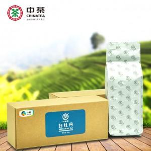 福鼎白茶 60g 白牡丹 牛皮纸盒 中茶牌