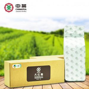 大红袍 80g 牛皮纸纸盒 武夷岩茶 中茶牌
