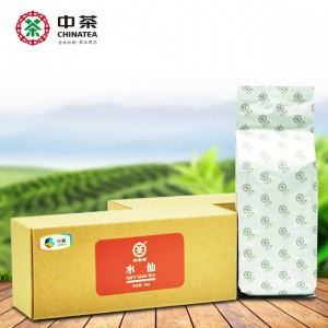 中茶牌  水仙 武夷岩茶 乌龙茶 牛皮纸纸盒 散茶 80g