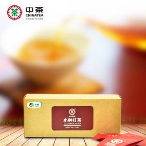 小种红茶 16泡/80g 牛皮纸盒 福建中茶牌