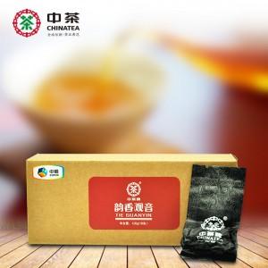 中茶牌 韵香铁观音  安溪铁观音  乌龙茶 茶叶 牛皮纸纸盒 18泡/126g