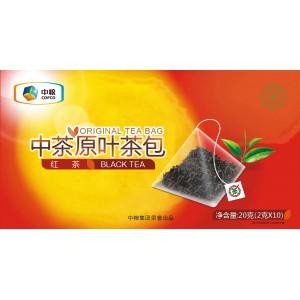 中茶原叶茶包 (红茶)10袋/20g原叶茶