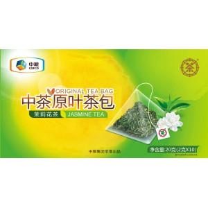 中茶原叶茶包 (茉莉花茶)10袋/20g原叶茶