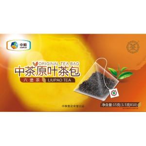 六堡茶 原叶茶包 10袋/15g 中茶牌