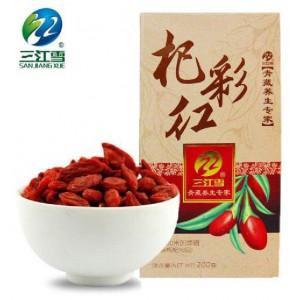 青海枸杞 200g袋装  杞彩红 甜品零食 三江雪