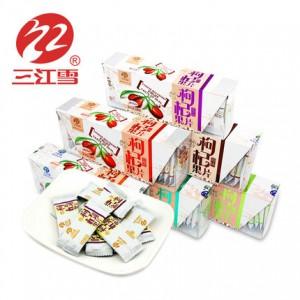 枸杞果片 210克 枸杞鲜汁浓缩软糖果 休闲零食 青海三江雪