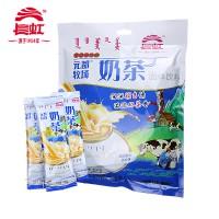 内蒙古特产长虹元都牧场奶茶普洱甜茶香米咸味特浓咸茶400g独立包装
