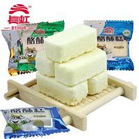 内蒙古特产奶酪长虹酪酥糕酸奶猕猴桃牛奶原味散装500g