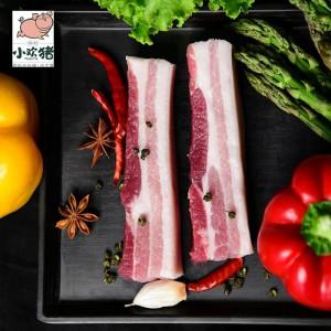 生态猪肉 3000g礼盒 润松小欢猪 山东黄河口林间散养 生鲜猪肉冷链包邮
