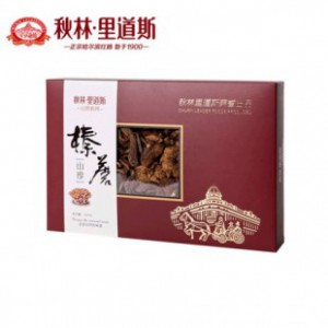 东北山珍(榛蘑+元蘑)200gx2盒 礼盒特产