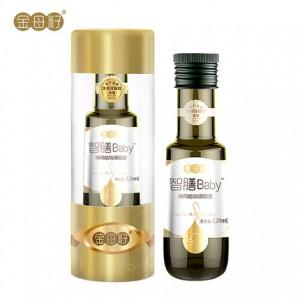 金母籽婴幼儿食用油  128ml 智膳Baby植物调和油含DHA藻油核桃油