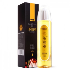 金母籽 山茶油 茶油鸡466ml 物理压榨纯正油茶籽油 食用油