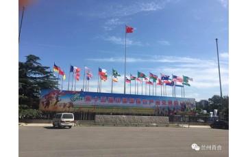 兰州百合绽放第十五届中国国际农产品交易会