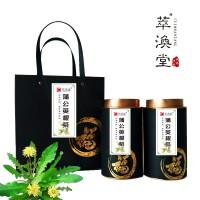 野生蒲公英根茶 500克礼盒装 山东萃涣堂