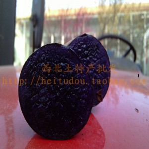 纯紫土豆种子黑金刚土豆原种种薯黑土豆种子黑金刚种薯