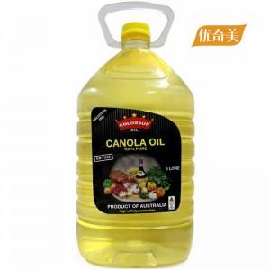 芥花籽油 5L 非转基因 零胆固醇 澳大利亚原装进口 COLOSSUS巨人品牌 包邮